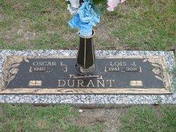 Lois Jean <I>Jones</I> Durant