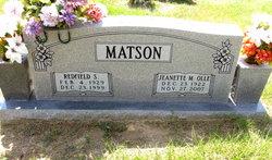 Jeanette M <I>Olle</I> Matson