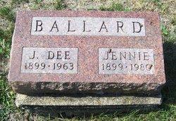 Jennie <I>Carr</I> Ballard