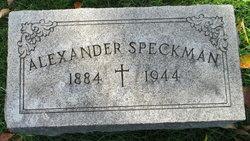 Alexander Speckman