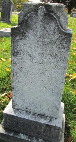 Anna Mary <I>EARNHARDT</I> Speckman