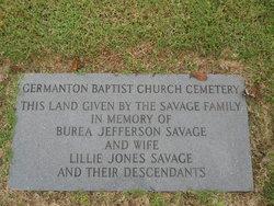 Germanton Baptist Church Cemetery