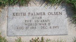 Keith Palmer Olsen