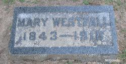 Mary <I>Cornell</I> Westfall