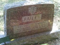 Evaline <I>Rowland</I> Bailey