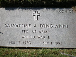 Salvatore A D'Ingianni