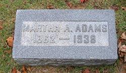 Martha A. <I>Vansickle</I> Adams