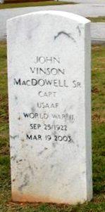 John Vinson MacDowell Sr.