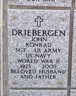 John Konrad Driebergen
