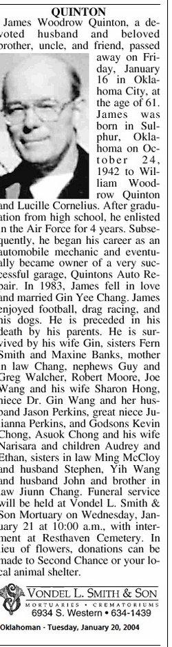James Woodrow Quinton