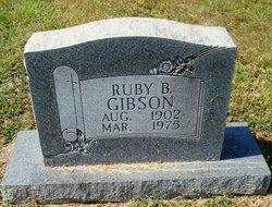 Ruby <I>Bagwell</I> Gibson