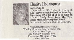 Charity Hollanquest
