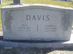 Charlie H Davis