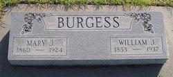 Mary Jane <I>Wyatt</I> Burgess