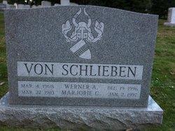 Marjorie C <I>Wright</I> Von Schlieben