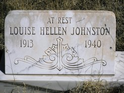 Louise Hellen <I>Schneider</I> Johnston