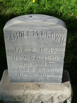 Cassie <I>McBride</I> Brown