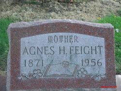 """Agnes Jane """"Agie"""" <I>Heidlebaugh</I> Feight"""