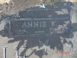 Annie Katheryn <I>McElvy</I> Currie