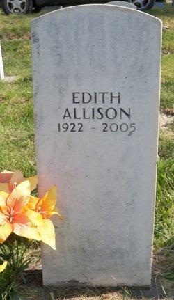 Edith Margaret <I>Bartsch</I> Allison