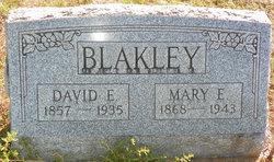 Mary E <I>Stover</I> Blakley