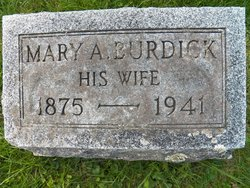 Mary A. <I>Burdick</I> Gill