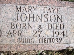 Mary Faye Johnson