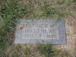 Patrick H Matthews