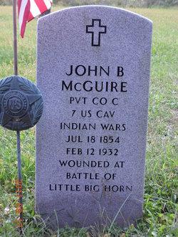 Pvt John B McGuire