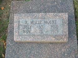 Robert Merle Mount