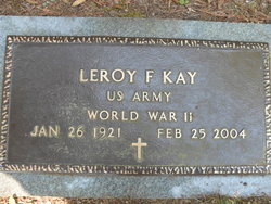 Leroy Frank Kay