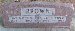 Lola <I>Kiple</I> Brown