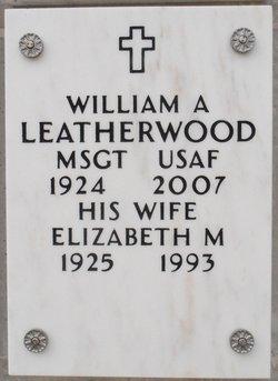 """Elizabeth Marie """"Betty"""" <I>Lussenhop</I> Leatherwood"""