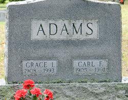 Grace Ione <I>Graves</I> Adams