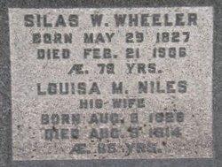 Louisa Mary <I>Niles</I> Wheeler