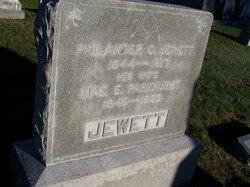 Mae E <I>Parkhurst</I> Jewett