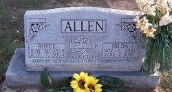 Hilda Frances <I>Rawson</I> Allen