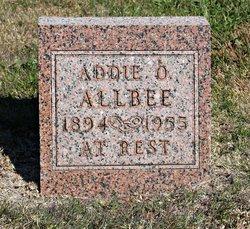 Addie O Allbee