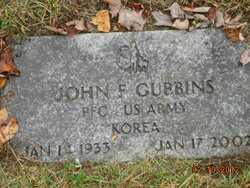 John F Gubbins
