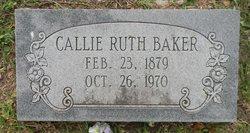 Callie Ruth <I>Ball</I> Baker