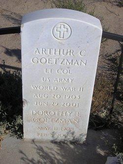 Arthur C Goetzman