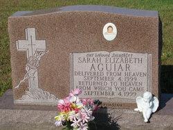 Sarah Elizabeth Aguiar