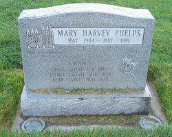 Mary <I>Harvey</I> Phelps