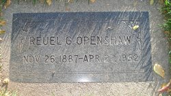 Reuel George Openshaw
