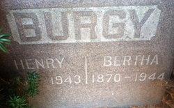 Bertha Ann <I>Surber</I> Burgy