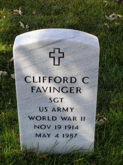Clifford C Favinger