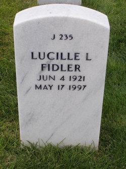 Lucille L Fidler