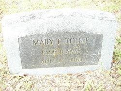 Mary Eliza <I>Morgan</I> Toole