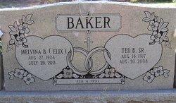 Melvina <I>Elix</I> Baker