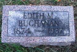Edith Mary <I>Speicher</I> Buchanan